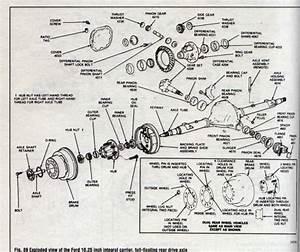 F 350 Dually Rear Axle Diagram