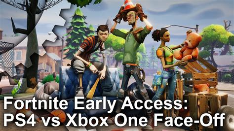 fortnite early access ps pro  xbox  graphics
