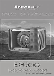 Breezair Exh Series Owner U0026 39 S Manual