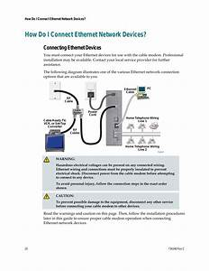 How Do I Connect Ethernet Network Devices  Connecting