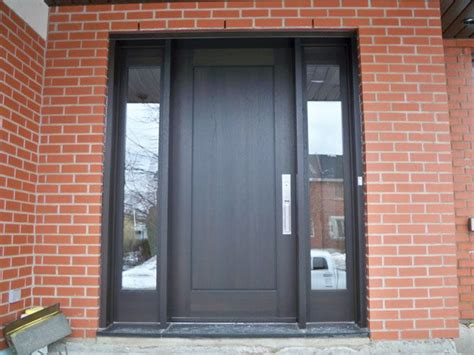 portes bourassa portfolio archive exterior doors  glass transitional front doors