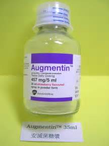 Augmentin - patient information, description, dosage and directions.  Bacterial Infections Amoxicillin Oral Suspension