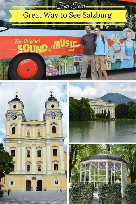 This shows the 2021 itinerary of the sound of music. The BEST Sound of Music Tour in Salzburg (With images) | Sound of music tour, Europe travel ...