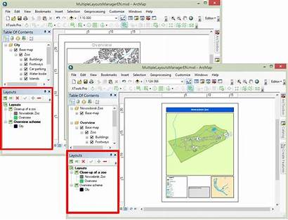 Arcgis Pro Layouts Layout Xtools Map Multiple