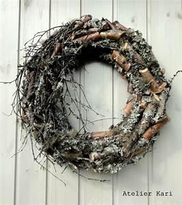 Kranz Aus Aststücken : atelier kari naturdekorasjoner og kranser wreaths ~ Lizthompson.info Haus und Dekorationen