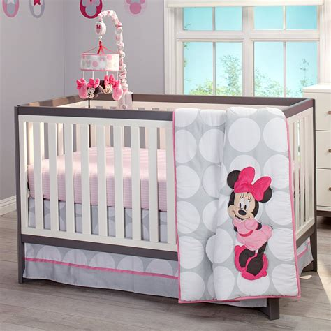 Minnie Mouse Baby Bed by Disney Minnie Mouse Polka Dots Nursery Crib