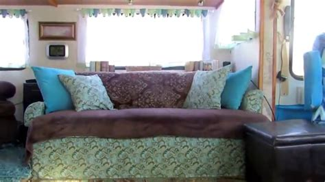 Reupholster Rv by Motorhome Knife Sofa Recover