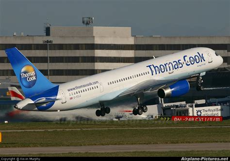 G-FCLG - Thomas Cook Boeing 757-200 at Manchester | Photo ...