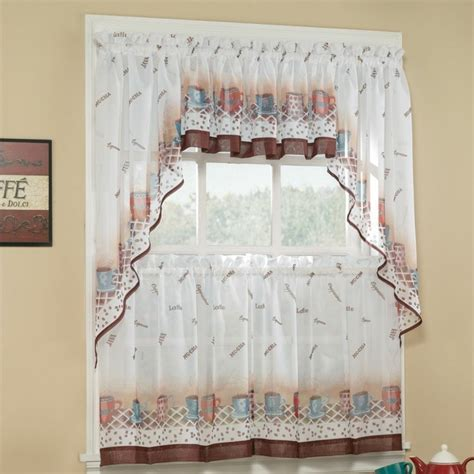 kitchen curtains fruit design rideau fen 234 tre habillage de fen 234 tre selon les pi 232 ces 4366