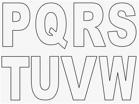 moldes de letras grandes para imprimir proyectos que debo intentar