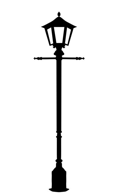 Library of victorian lamp post svg library download png files Clipart Art 2019