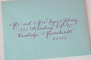 33 best wedding invitations images on pinterest wedding With wedding invite envelope calligraphy