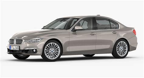 Bmw 3-series Luxury Line 2016 3d Model Max