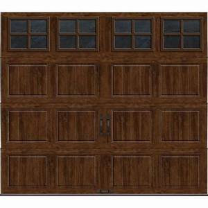 clopay gallery collection 8 ft x 7 ft 65 r value With 8 ft insulated garage door
