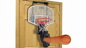 Auto-Return Indoor Basketball Hoop Apparently Doubles As A ...
