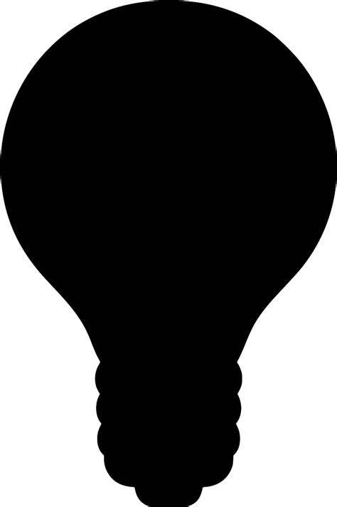SVG > intelligence ai psychology bulb - Free SVG Image