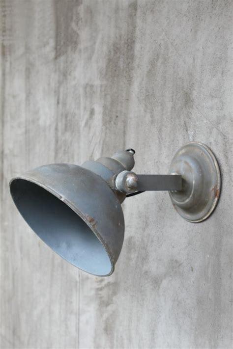 wandlampe wand industrielampe shabby strahler metall