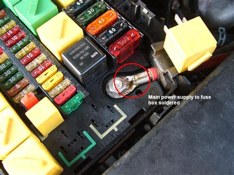 Land Rover Fuse Box Location by Range Rover World 2010