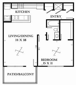 small bedroom apartment layout also 1 house floor plans With small 1 bedroom apartment layout