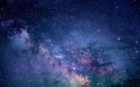 Download Wallpaper Galaxy Milky Way Space