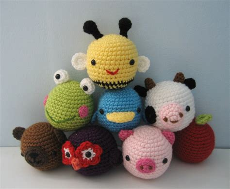 amigurumi crochet animal toys  baby pattern digital