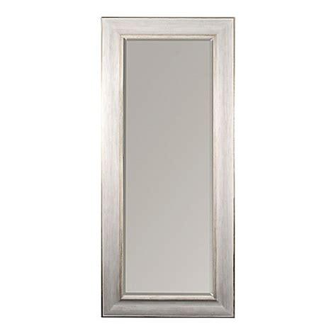 floor mirror bed bath beyond white gold 30x70 leaner mirror bed bath beyond