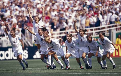 Girl Power Advice From America's Soccer Pioneers  Lean In