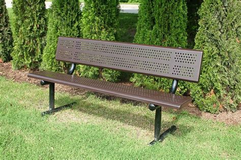 Standard Park Bench With Back  Pro Playgrounds  The Play