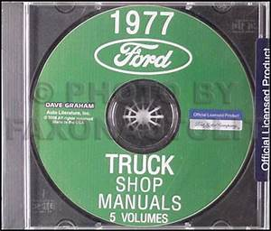 1977 Ford Pickup Truck Foldout Wiring Diagram Original