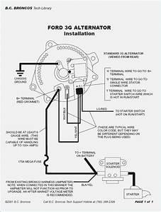 Ford 1g Alternator Wiring Diagram - ImageResizerTool.Com