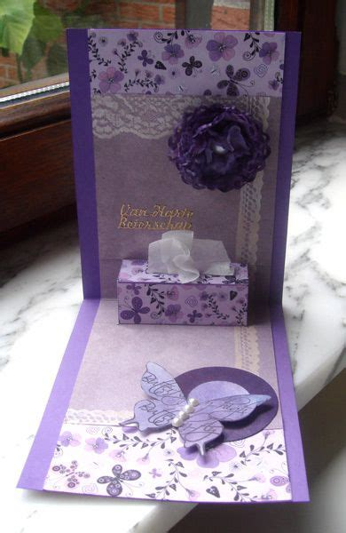 get well soon pop up card template inside kleenex box for get well by niki1 cards