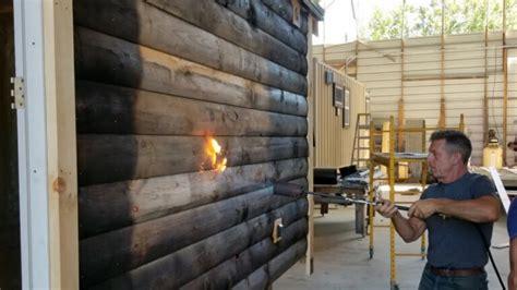 shou sugi ban japanese wood burning technique youtube