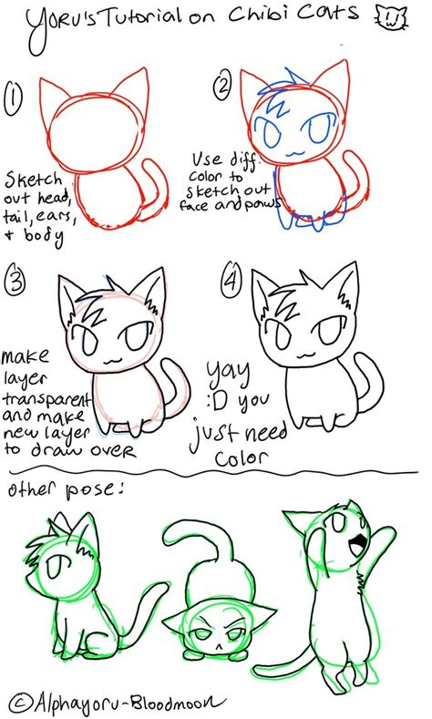 170 Best Chibi Tutorials Images On Pinterest Drawing