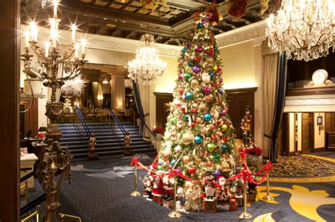 top ten hotel lobby christmas decorations 5 hotels with the best decorations orbitz