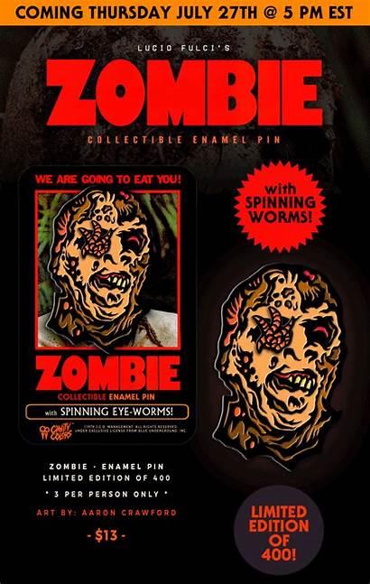 Zombie Lucio Fulci Cavitycolors Bringing Buyzombie Enamel