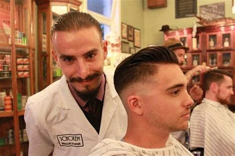 Awesome Schorem Barbers Haircut Barbering Hipster