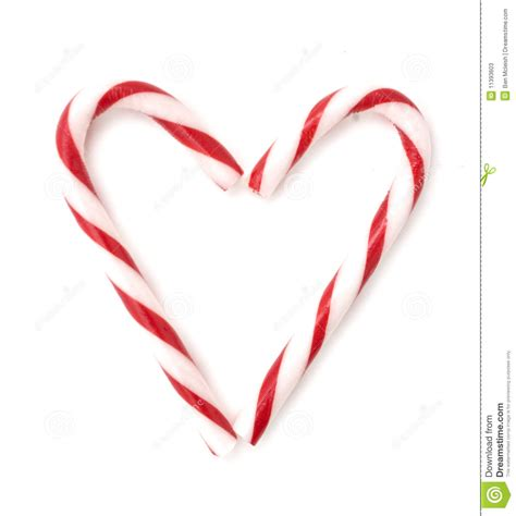Candy canes shape of heart vector illustration love concept. Candy Cane heart stock image. Image of snack, round ...