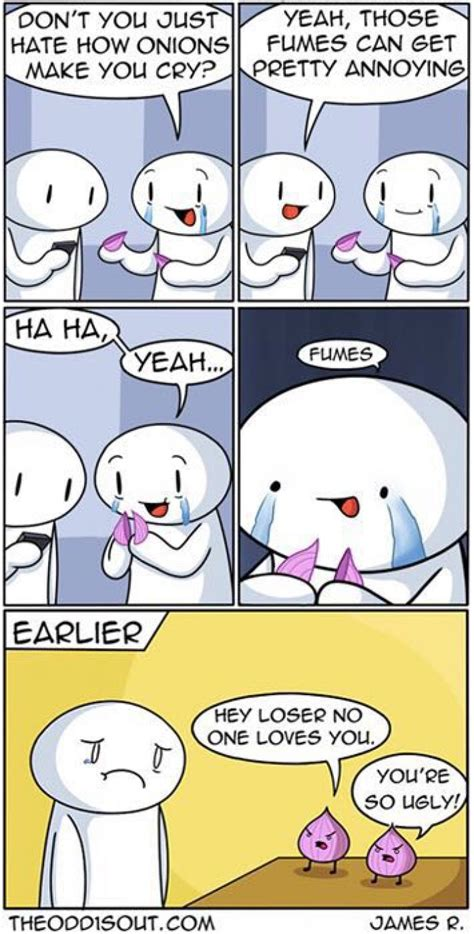 Funny Meme Comic Strips - don t you just hate how onions make you cry comics pinterest hilarious theodd1sout