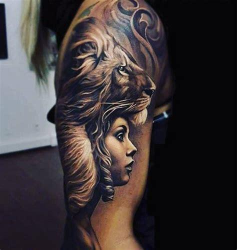 black  white tattoos  men masculine ink designs