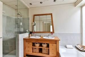 Salle De Bain Rénovation : comment am nager une salle de bain moindre prix ~ Nature-et-papiers.com Idées de Décoration