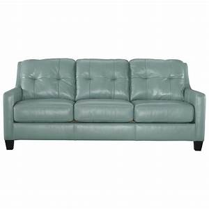 Signature design by ashley o39kean contemporary leather for Ashley sleeper sofa
