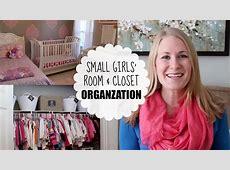BUDGET ORGANIZING Small Girls' Room & Closet YouTube