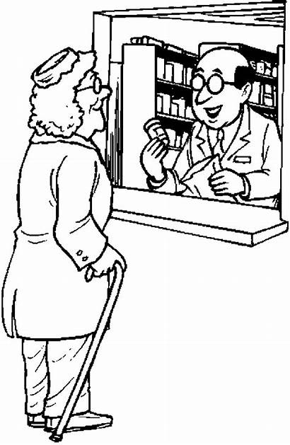 Pharmacist Coloring Pages