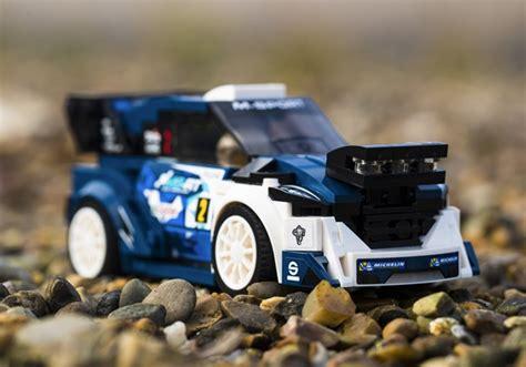 sport ford fiesta wrc rally car joins lego speed