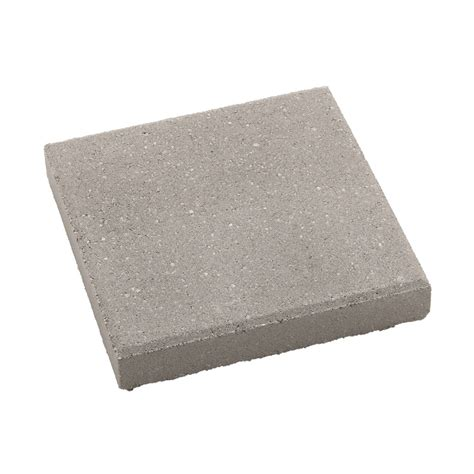 12x12 Patio Pavers Weight by Shop Square Gray Patio Common 12 In X 12 In