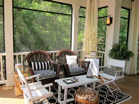 Screened Porch Decorating Ideas by Screened Porch Ideas