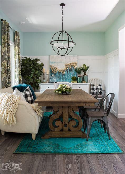 boho farmhouse dining room reveal  room challenge