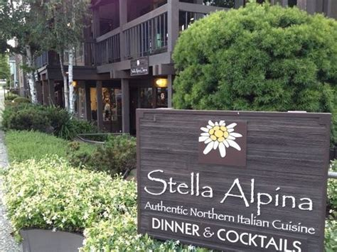 Stella Alpina Osteria, Burlingame