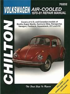 Vw Beetle  Karmann Ghia  Transporter Repair Manual 1970