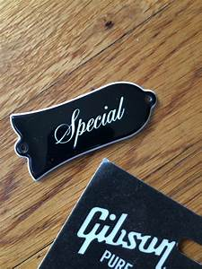 U0026quot Special U0026quot  Truss Rod Cover For Gibson Les Paul   Sg   Es